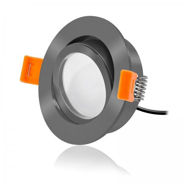 FORMA RA LED Einbaustrahler Set Smart Home 24V 6W | Alu | 120° | KNX, DALI, ZIGBEE, ECHO, CASAMBI, GOOGLE, HOMEMATIC, 1-10V, HUE