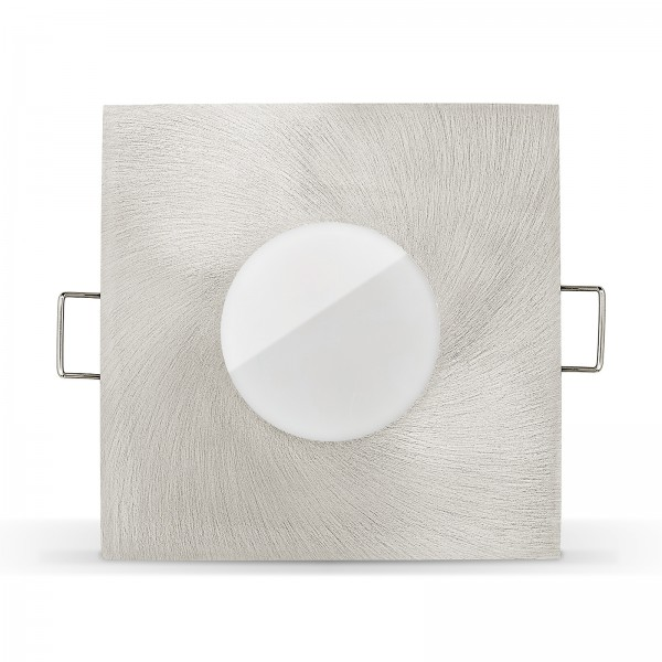 LED Bad Einbaustrahler Set IP65 dimmbare Farbtemperatur 1800K-3000K  Einbaurahmen 230V 7W Modul