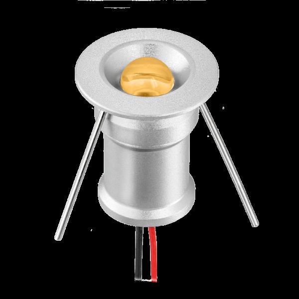 Led Mikro Spot 2W 5000K tageslichtweiß 12V dimmar - Minispot - Einbauspot-einbau