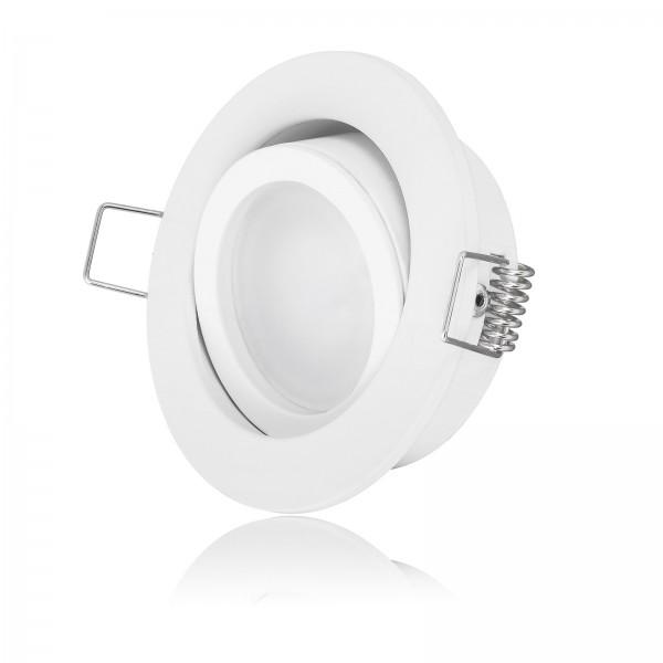 LED Einbaustrahler Set dimmbare Farbtemperatur 2000K-3000K Extra Flach