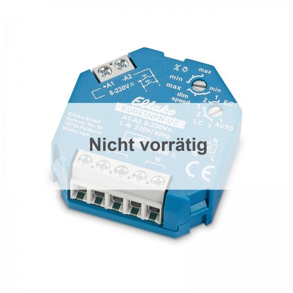 Eltako EUD61NPN-UC Universal-Dimmschalter UC Power MOSFET bis 400W ESL bis 400W und LED bis 400W