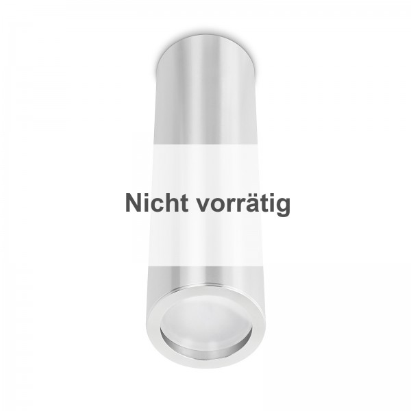 Smart Home Tube Pure LED Aufbauleuchte silber 24cm 230V 10W Modul - 120° Abstrahlung & Ra>90