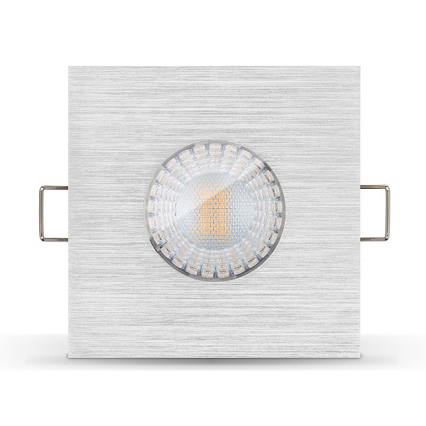 4260404788010 LED Einbaustrahler Set IP65 Ledox - dimmbar Einbaurahmen Badezimmer Feuchtraum