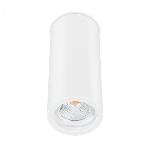 Smart Home Tube Pure LED Aufbauleuchte weiß 17cm 230V 6W - 60° Abstrahlung mit Reflektor & Ra>90