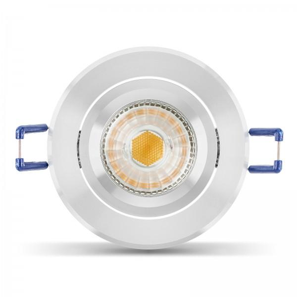 LED Einbauleuchten Set dimmbar inkl. 6W Leuchtmittel GU10 230V Ra90 I Einbaustrahler