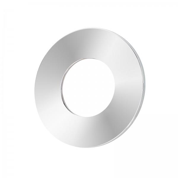 Lista Aqua Einzelblende chrom aus Aluminium rund passend für Lista Aqua Modul IP65
