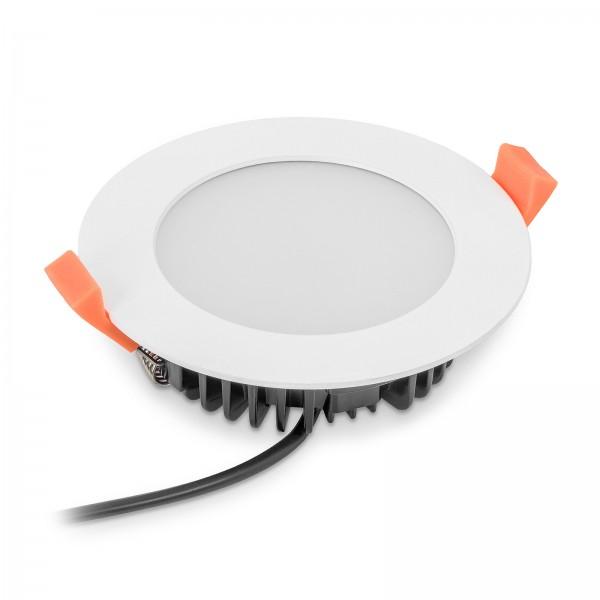 LED Einbauleuchte IP44 von LEDOX dimmbar mit 3000K warm weiß I 230V 13W I Abstrahlwinkel 120°