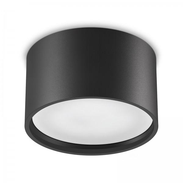 Led Aura Aufbaustrahler Set GX53 schwarz inkl. 7W Leuchtmittel tageslichtweiß