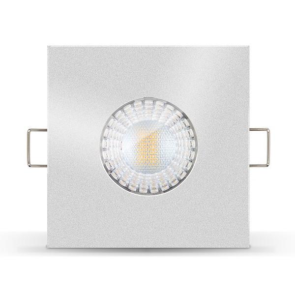 4260404788256 LED Einbaustrahler IP65 von Ledox Einbaurahmen Nasszelle Bad Terrasse Badbeleuchtung Feuchtraum