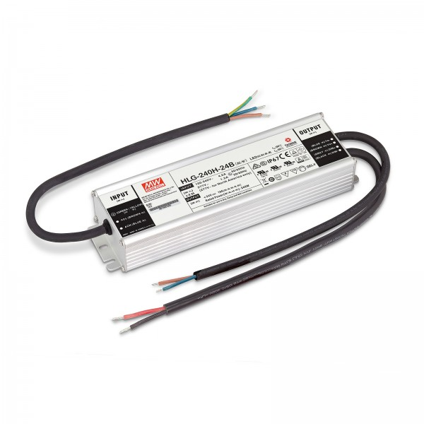 LED Trafo von Mean Well IP67 - 240W 24V 10A Konstantstrom dimmbar Überlastschutz