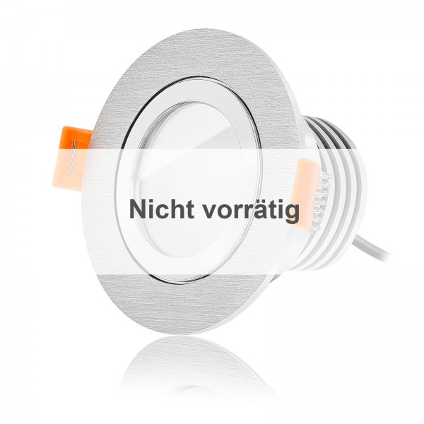 FORMA R AQUA LED Bad Einbaustrahler Set IP44 dimmbar inkl. Bicolor Einbaurahmen 230V 10W Modu