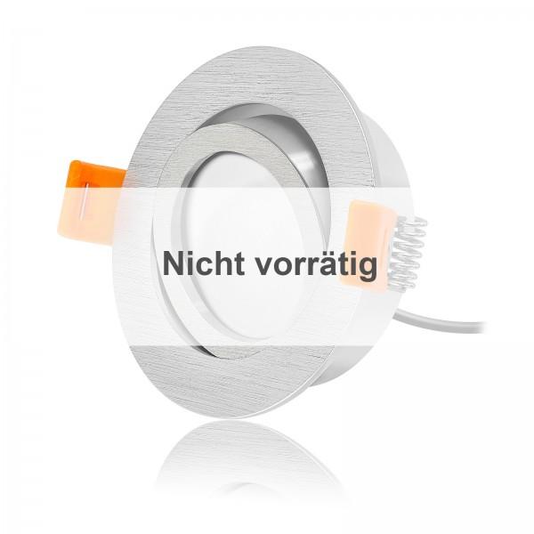 FORMA R LED Einbaustrahler Set dimmbar & schwenkbar inkl. Einbaurahmen 230V 6W Modul extra flach