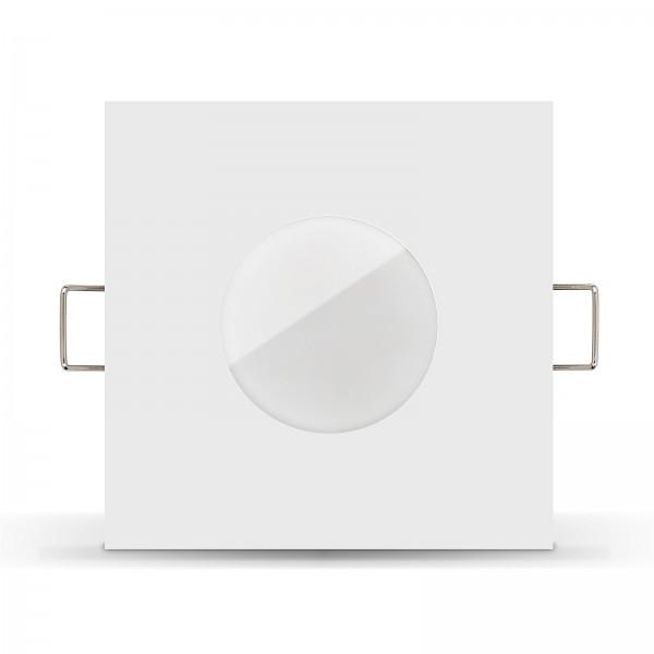 LISTA AQUA LED Badeinbaustrahler Set IP65 dimmbar inkl. Einbaurahmen weiß 230V 11W Modul Ra>90