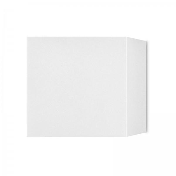 LED Wandleuchte weiß UP & DOWN IP44 für 230V mit 6W 3000K warmweiß verstellbarer Leuchtwinkel