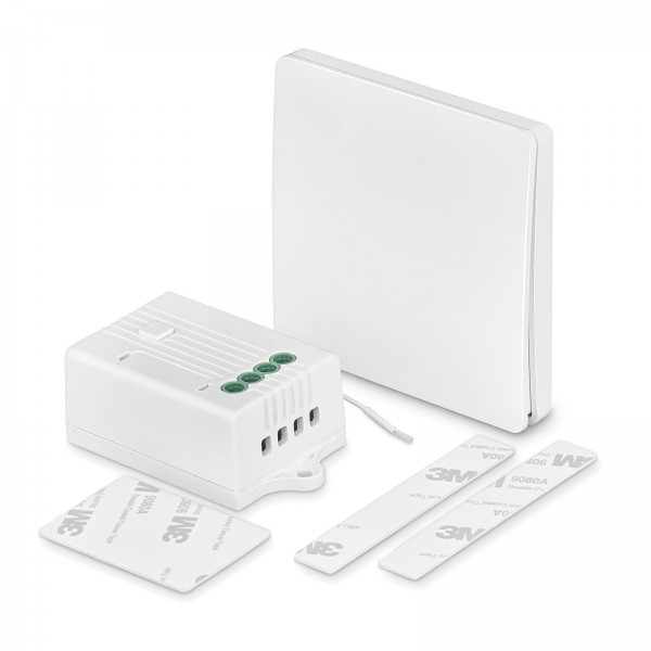 Funktastdimmer Set für 1 Zone Kinetic 230V kein Strom Batterien notwendig Smart Home Alexa Google Apple