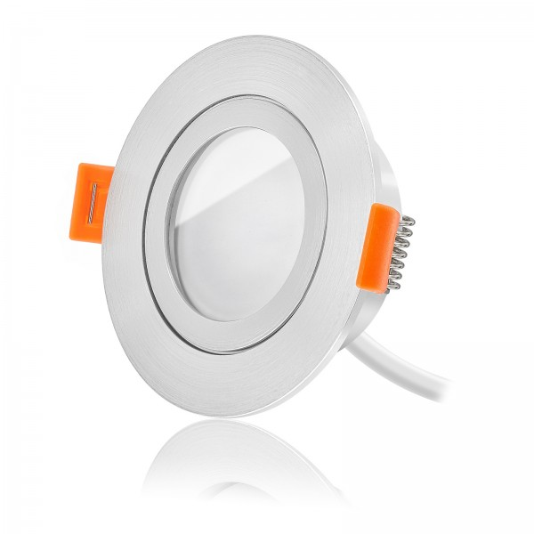 FORMA AQUA Led Bad Einbaustrahler Set dimmbar & schwenkbar inkl. Forma RM Einbaurahmen und Led Leuchtmittel Modul RGB + 2700k - 6500K