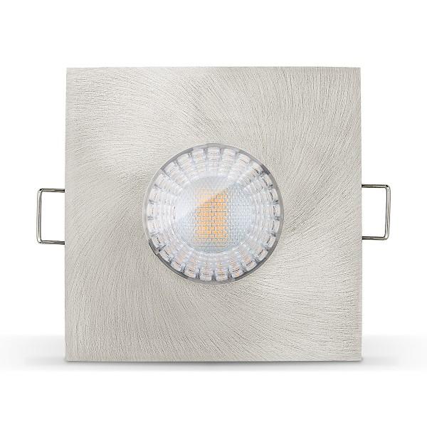 4260404788133 LED Einbaustrahler Set IP65 von Ledox - dimmbar Einbaurahmen DIP65-7WD-AEG