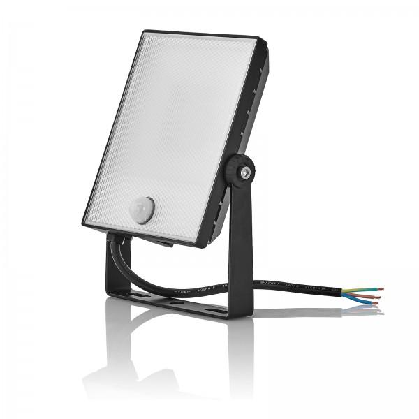 LED Wandstrahler IP65 mit Bewegungsmelder 230V 30W 3000k warmweiß Außenstrahler Fluter