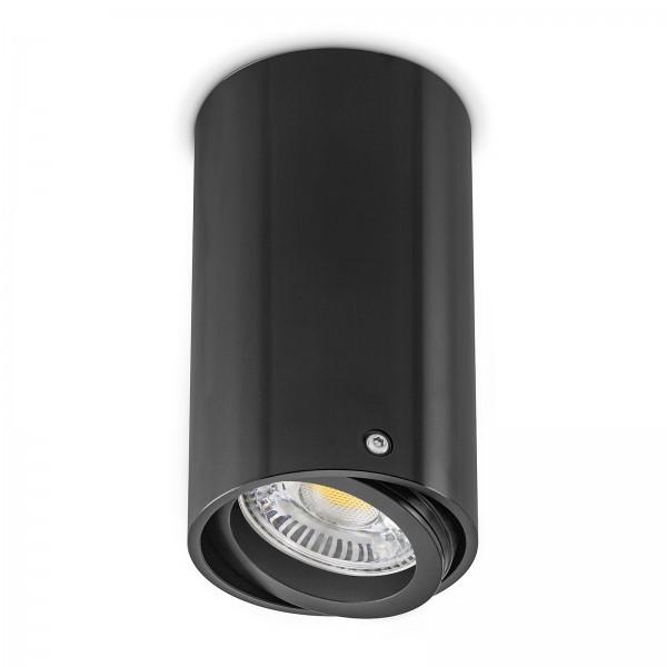 4260404780656 LED Aufbauleuchte Set AB-50B Aluminium schwarz von Ledox mit 6W