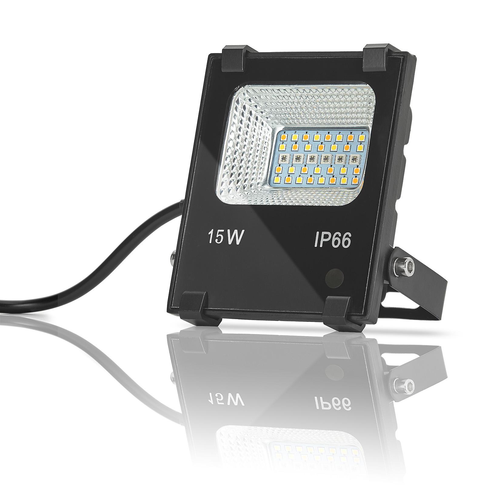 Fernbedienung RGB Farbwechsel Wandstrahler Wandleuchte Edelstahl inkl 3W LED