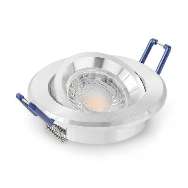 LED Einbauleuchten Set dimmbar & schwenkbar warmweiß 230V 7W GU10 230V