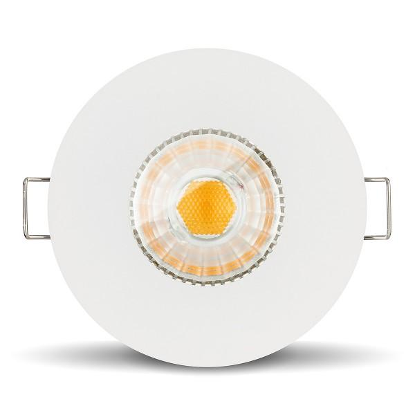 Led Feuchtraumleuchte IP65 6W GU10 COB weiß für Bad Dusche Feuchtraum
